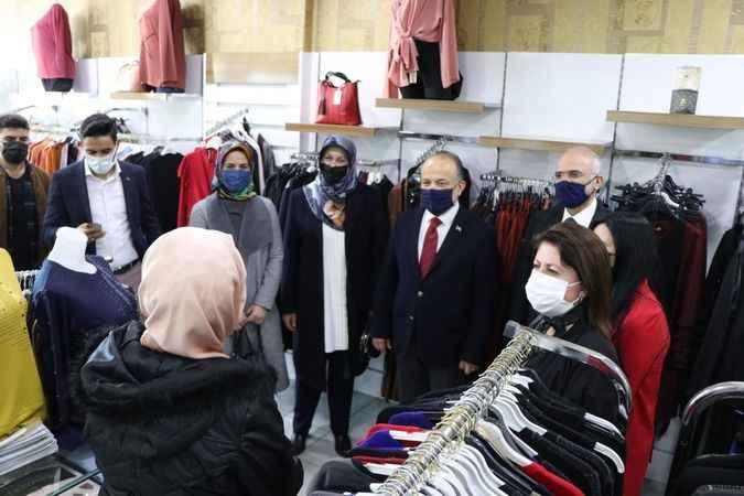 AK Partili Yavuz, Efeler'de esnaf ve vatandaşlarla buluştu