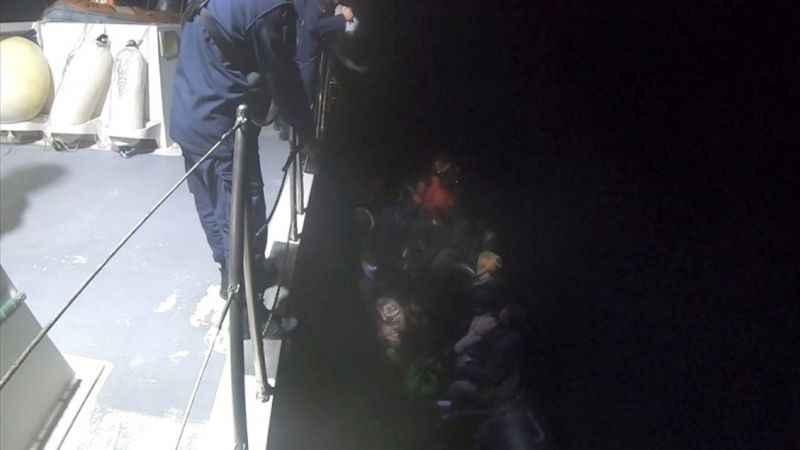 Aydın'da 22 sığınmacı kurtarıldı
