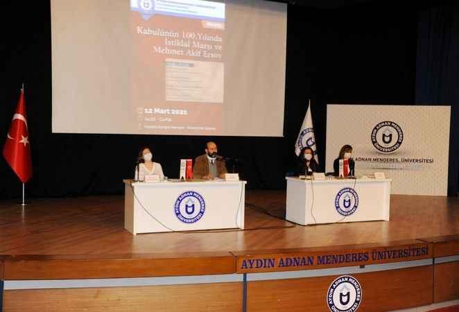 ADÜ'de Mehmet Akif Ersoy paneli