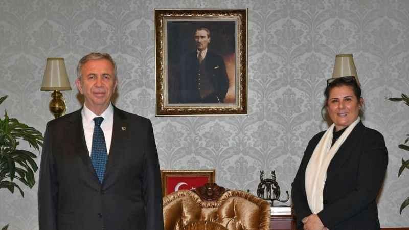 Başkan Çerçioğlu'ndan Mansur Yavaş'a ziyaret
