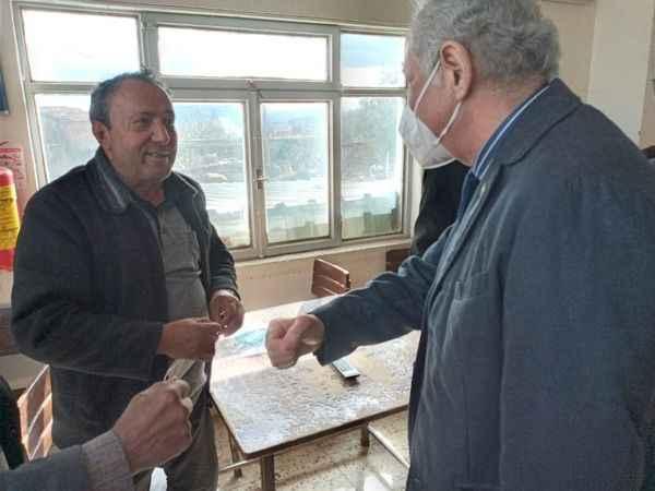 İYİ Parti Milletvekili Sezgin, Karacasu'ya çıkarma yaptı