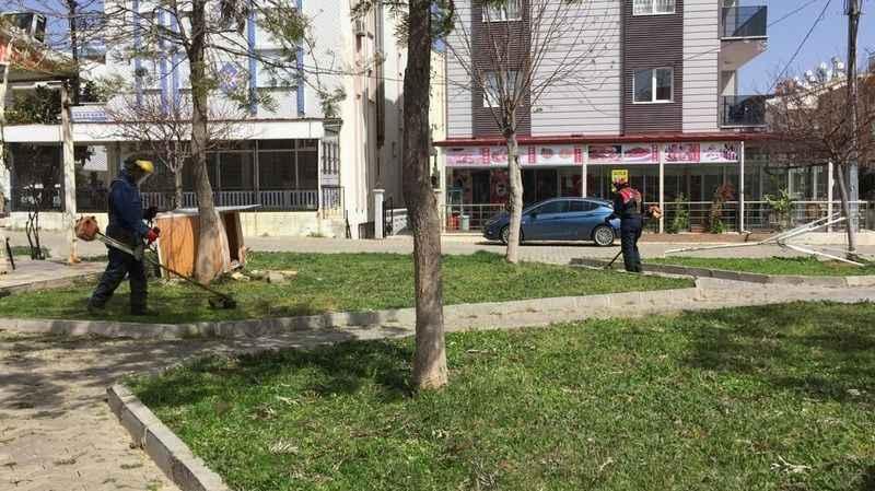 Didim'de tüm mahallelerdeki parklara el atılıyor
