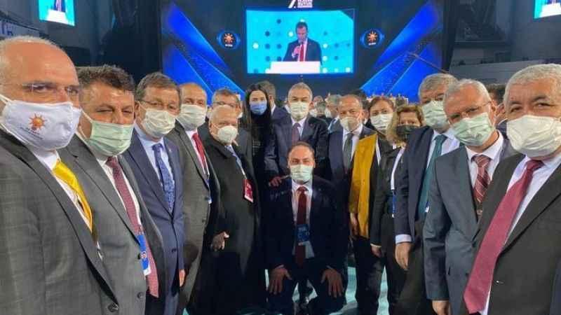 AK Partili vekillerden Sarıbaş'a tam destek