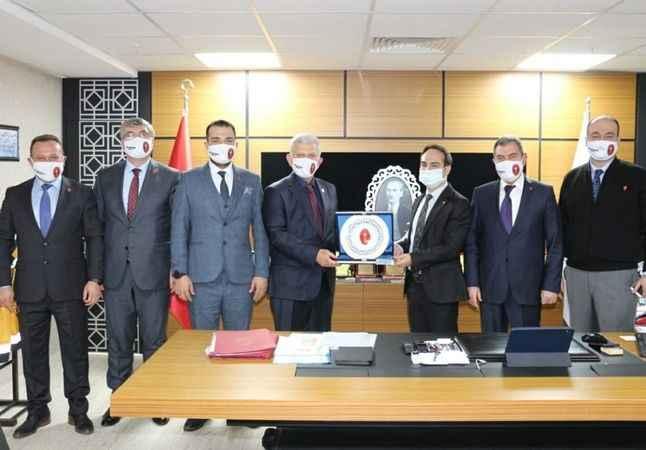 Veteriner Hekimleri Merkez Konseyi, Aydın'ı ziyaret etti