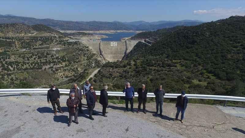Sökeli üreticilere yönelik baraj gezisi düzenlendi