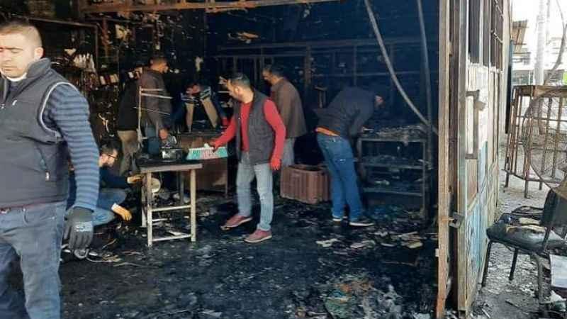 Dükkanı yanan esnaf için destek kampanyası başlatıldı