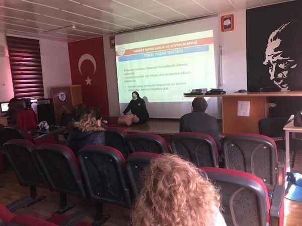 Aydın'da öğrencilere ilkyardım eğitimi verildi
