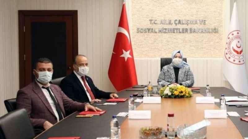 Başkan Celbek, Ankara'dan mutlu döndü