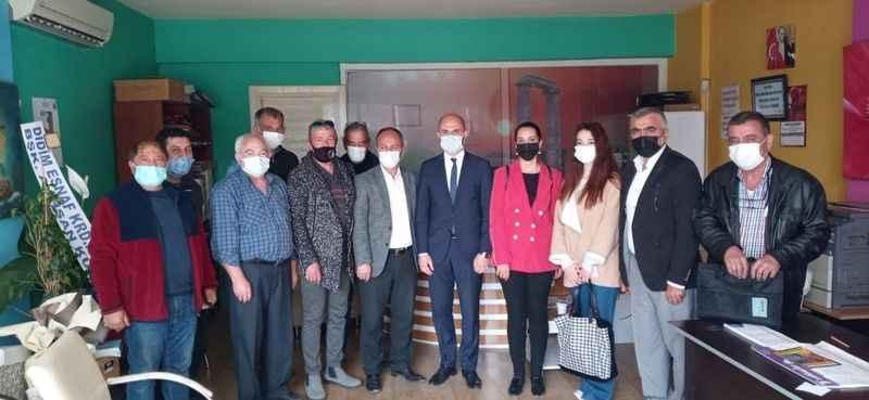 Didim DEVA'dan Çalışan Gazeteciler Cemiyeti'ne ziyaret