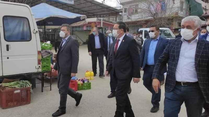 AK Parti'den Bozköy ziyareti