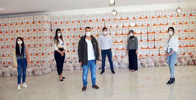Necdet Yapı'dan ihtiyaç sahibi ailelere 500 ramazan kolisi