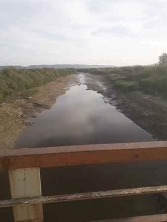 Menderes Nehri kuruyor