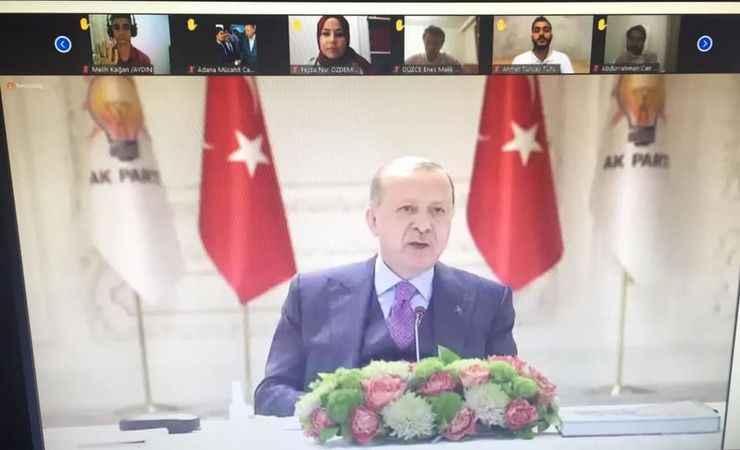 Cumhurbaşkanı Erdoğan, Aydınlı gençlerle görüştü