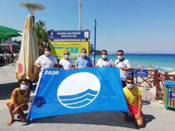 Aydın'da 39 plaja mavi bayrak