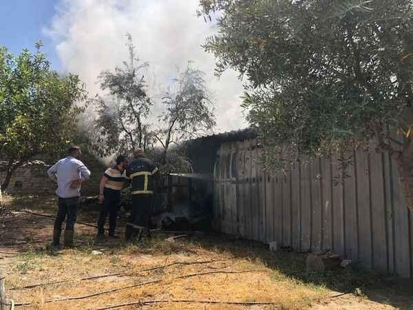 Aydın'da cami yangını