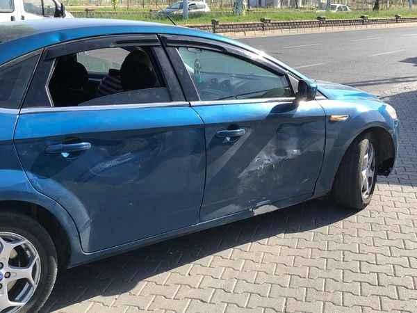 Nazilli'de feci kaza; 1 yaralı
