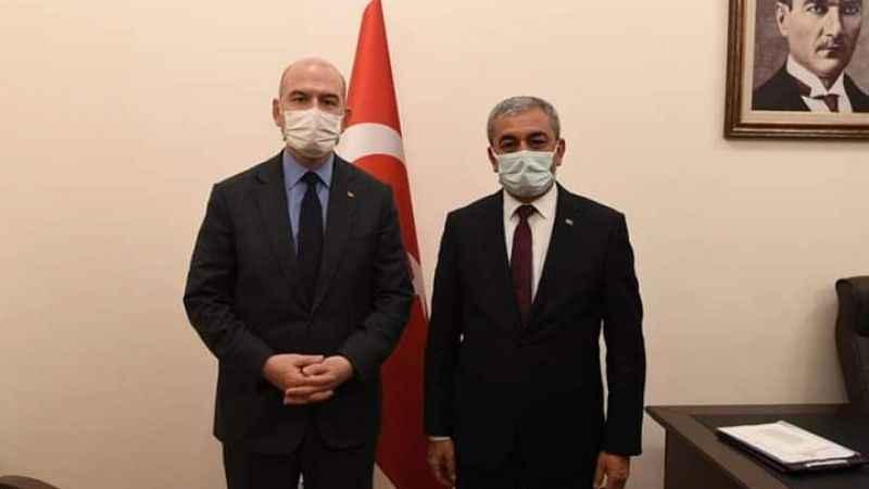 'Bakanımız Süleyman Soylu'nun yanındayız'