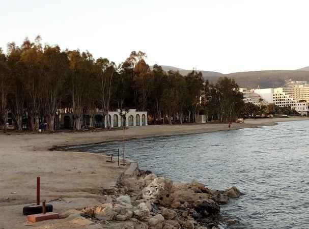 Didim'in 'Beyazkum'u tatilcileri bekliyor