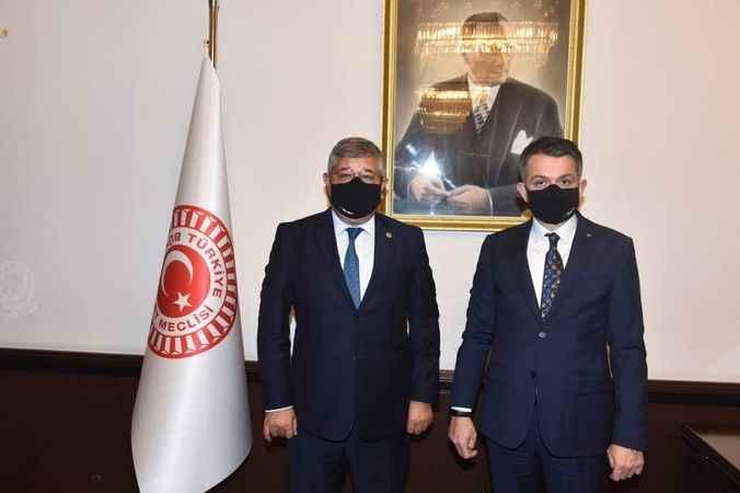 Milletvekili Posacı, çiftçinin taleplerini Bakan Pakdemirli'ye iletti