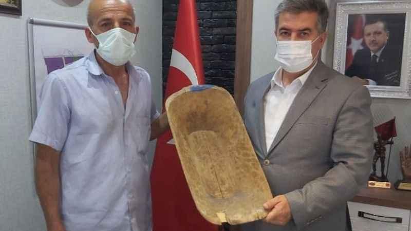 Buharkent halkından Kent Müzesi'ne destek
