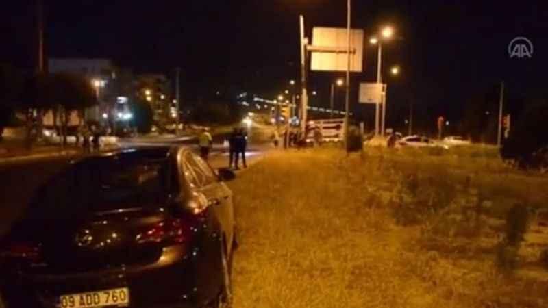 Aydın'da kamyonet ile otomobil çarpıştı