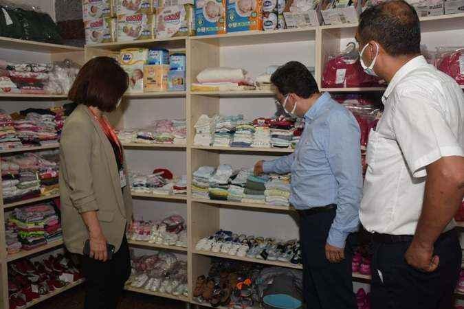 Kaymakam Şahin'den hastane ziyareti
