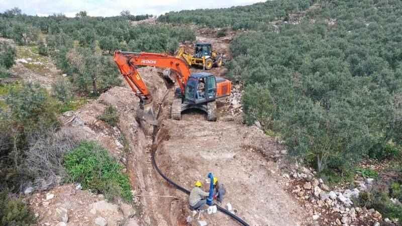 Aydın Büyükşehir Belediyesi, binlerce dönüm tarım arazisini sulayacak