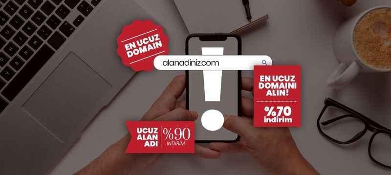 En Ucuz Domaini Almak