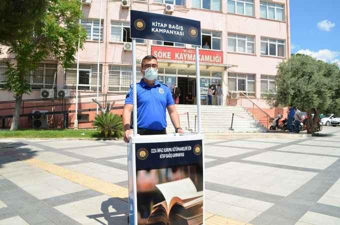 Söke'de cezaevleri için kitap bağışı kampanyası başlatıldı