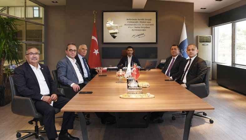 Turizmin başkentine 5 CHP'li milletvekilinden ziyaret