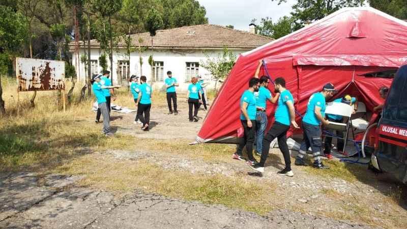 Aydın'da UMKE Temel Modül Eğitimi düzenlendi