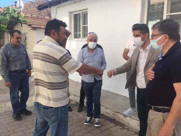 AK Parti'den Germencik'te üye ziyareti