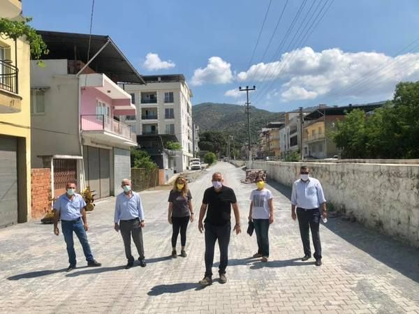 CHP Koçarlı'dan Büyükşehir'e hizmet teşekkürü