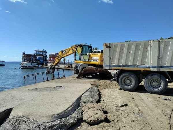 Didim Engelsiz Plajı, sezona hazırlanıyor