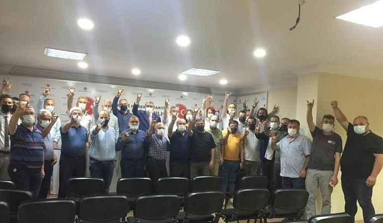 MHP Aydın'da ilçe başkanları toplandı