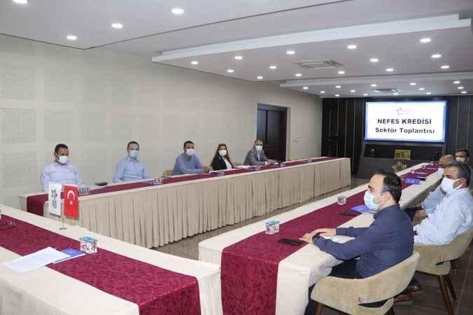 Nefes Kredisi sektör toplantısı, Nazilli Ticaret Odası'nda yapıldı