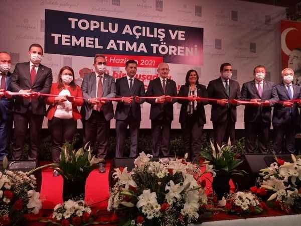 Kılıçdaroğlu, Aydın'da 16 yatırımın temel atma ve açılışını gerçekleştirdi