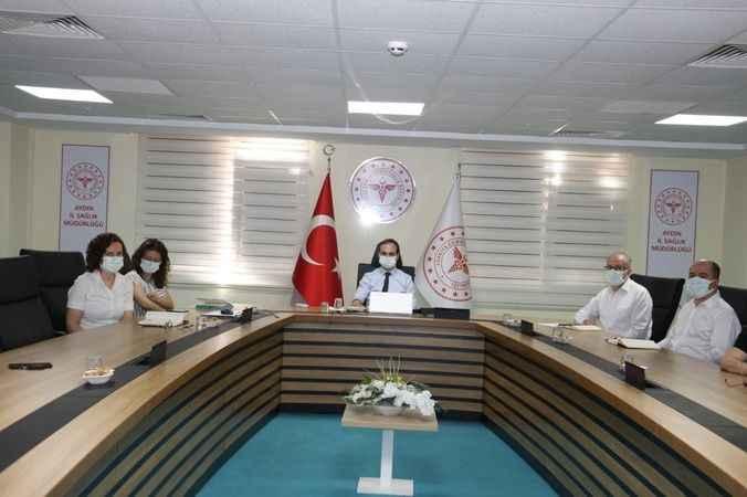 Aydın'da aşı takvimi ele alındı
