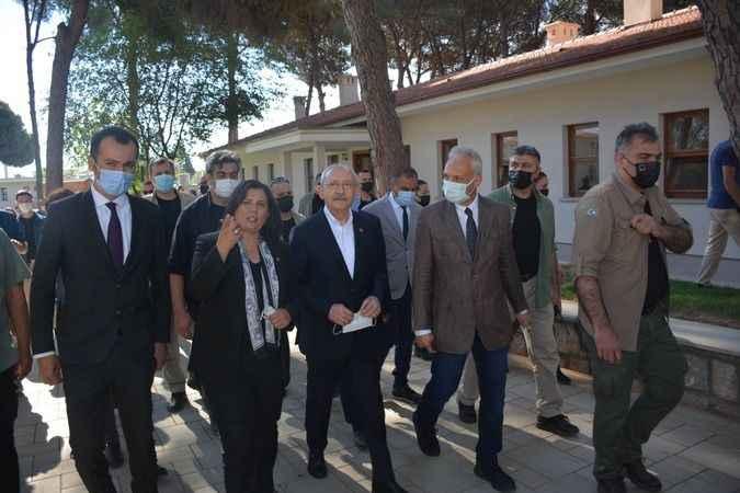Kılıçdaroğlu'ndan Başkan Çerçioğlu'na övgü
