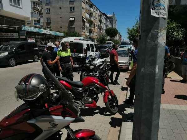 'Dur' ihtarına uymayan motosikletten uyuşturucu çıktı