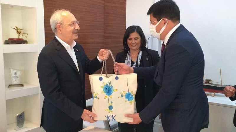 Başkan Özcan, CHP Lideri ile bir araya geldi