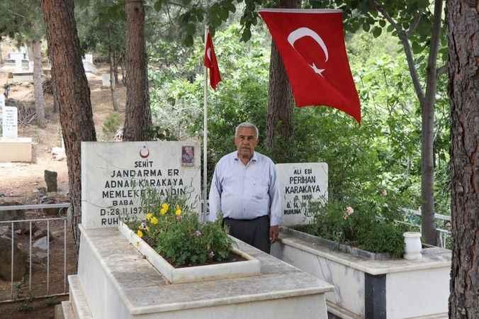 Başkan Özcan'dan şehide vefa