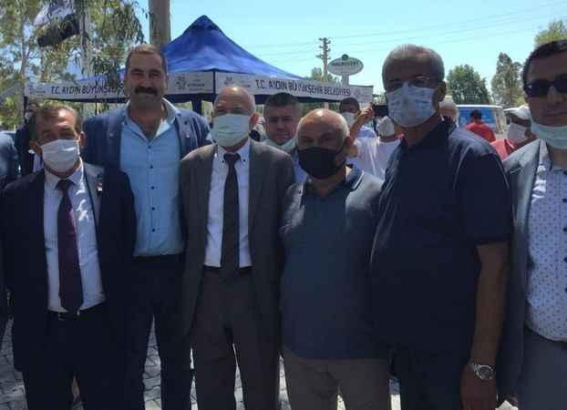 CHP Karacasu Teşkilatı liderini karşıladı