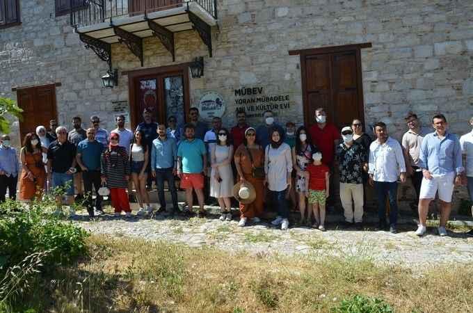Kültür-sanat muhabirleri Didim'in ören yerlerini gezdi