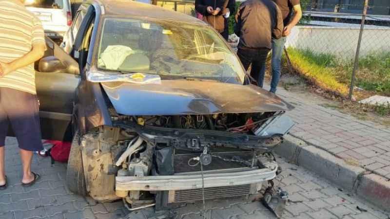 Nazilli'de alkol kaza getirdi; 1'i ağır 2 yaralı