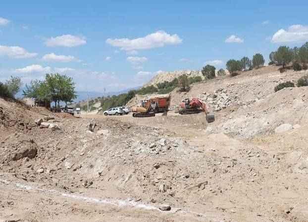 Yenipazar'da 210 dekar arazi sulamaya açılacak