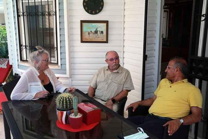 Didim'de yaşayan İngilizler, salgın sürecini Türkiye'de geçirmekten memnun