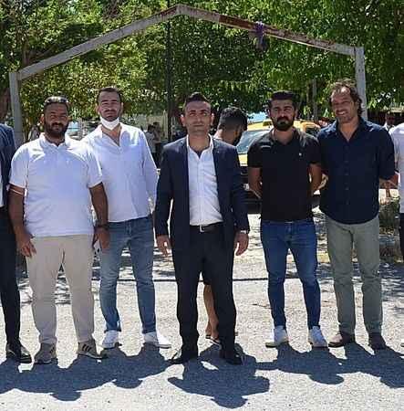 Denizköy'ün yeni muhtarı 'Bünyamin Karhan' oldu