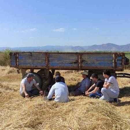 Koçarlı AK Gençlik'ten çiftçilere 'hayırlı olsun' ziyareti