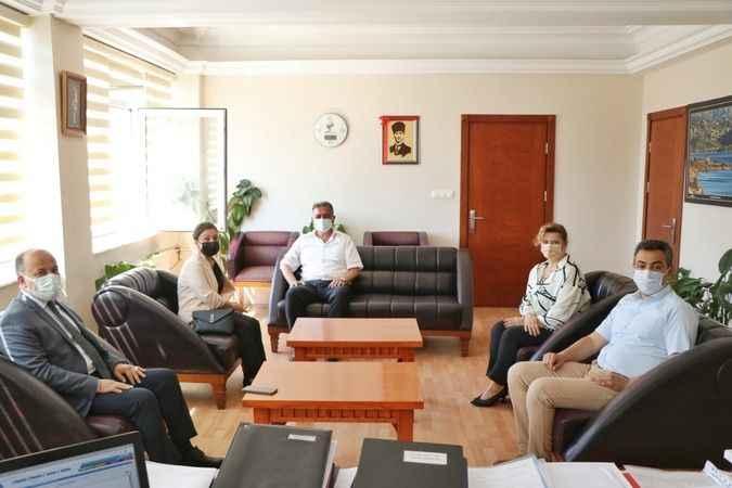 AK Partili Yavuz, Söke'de kamu yatırımları üzerine istişarelerde bulundu